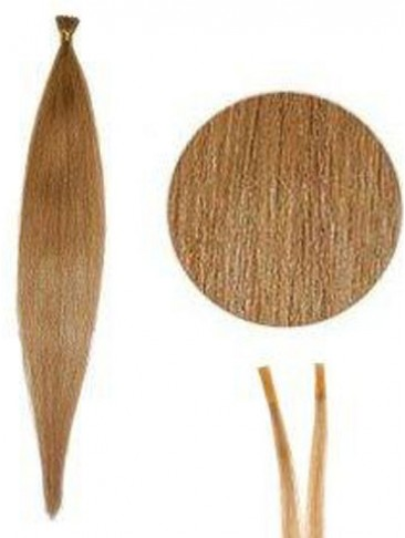 Silky Straight Stick/I Tip Hair Extensions