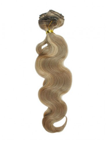 "10 pcs From 18"" Wavy Clip In Full Head Set"