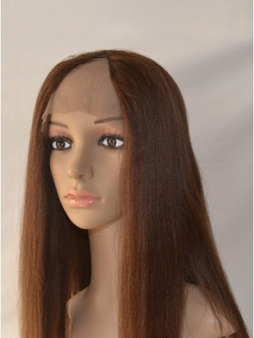 Human Hair Straight Lace Front U Part Lace Wig