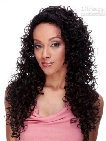 Long Curly Gorgeous U Part Wig
