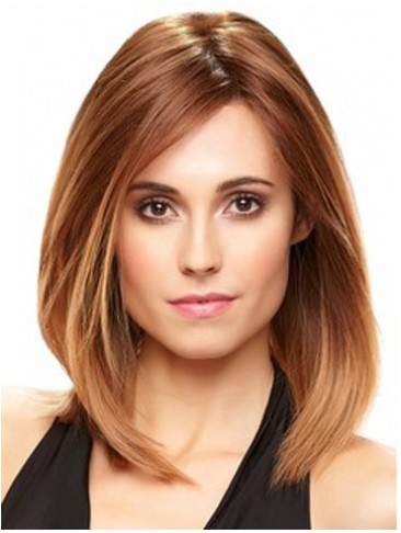 Remy Hair Lace Front Long Bob Style Wig
