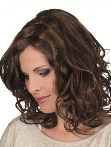 Magic Hand-Tied Lace Front Wavy Wig