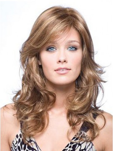 "18"" Wavy Lace Front Human Hair Wig"