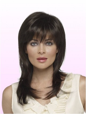"14"" Straight Capless Remy Human Hair Wig"