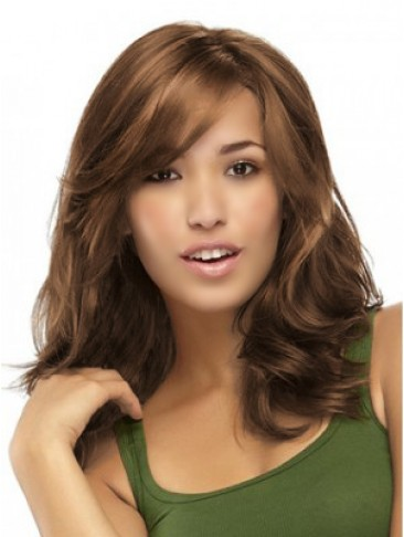 Heat Friendly Wavy Synthetic Capless Wig