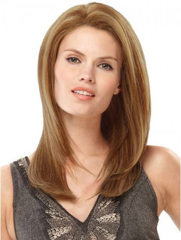 """18"""" Straight Human Hair Full Lace Wig"""