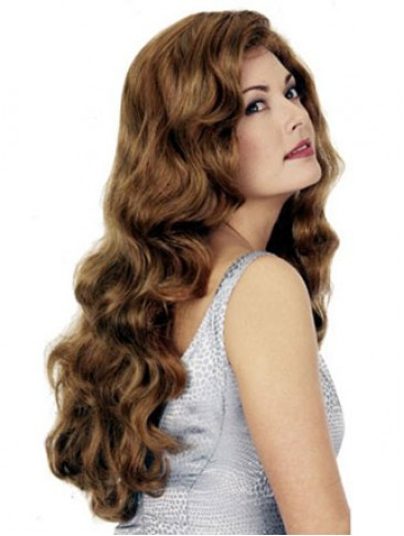 Long Deep Wavy Synthetic Wig