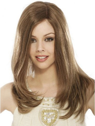 100% Human Hair Long Straight Lace Front Wig