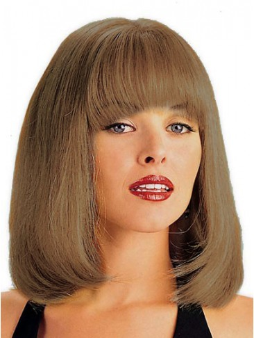 Chic Length Lace Front Human Hair Wig
