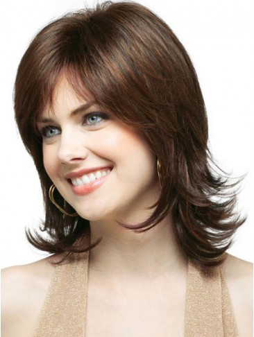 Gorgeous Medium Wavy Synthetic Wig