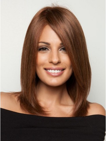 Shoulder-length Cut Lace Human Hair Wig