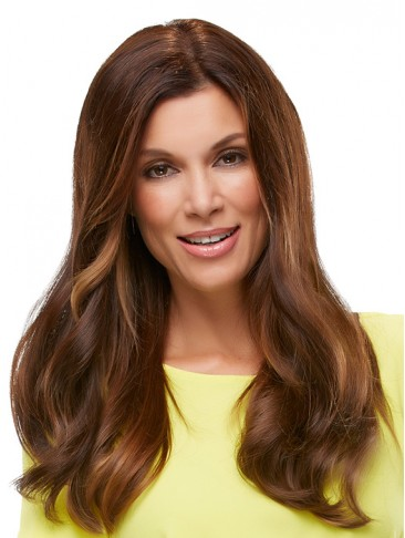 Natural Wavy Human Hair Lace Front Wig