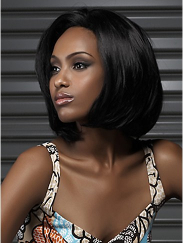 Straight Synthetic  Bob Wig