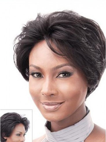 "8""  Body Wavy Remy Human Hair Lace Front Wig"