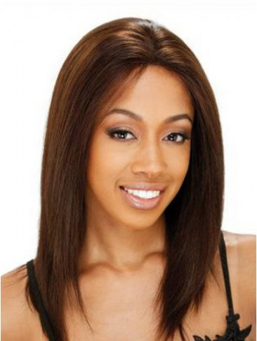 "14"" Straight Shoulder Length Lace Front Wig"