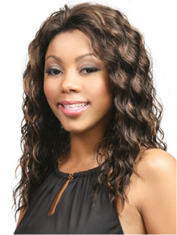 Long Wavy Lace Front Synthetic Wig