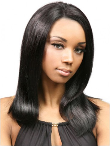 100% Remy Human Hair Long Lace Front Wig