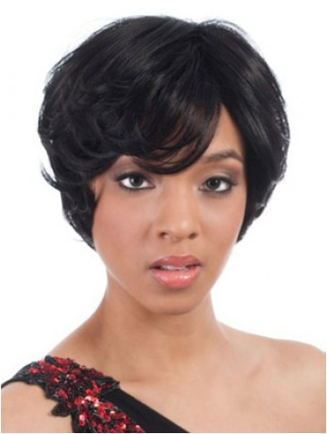 Short Capless Style Synthetic Wig