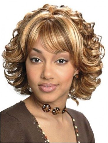 Classic Wavy Lightweight Synthetic Capless Wig