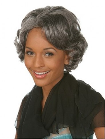 Short Wavy Capless Synthetic Fashion Wig