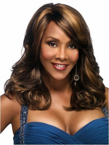 Long Capless Wavy Synthetic Wig