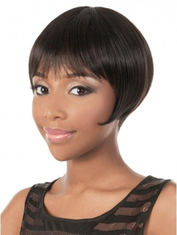 Giddy Chic Short Straight Synthetic Wig