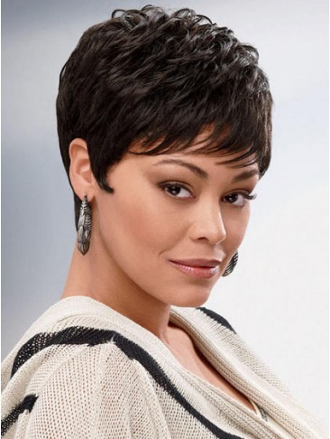Carefree Wavy Chi Short Capless Wig
