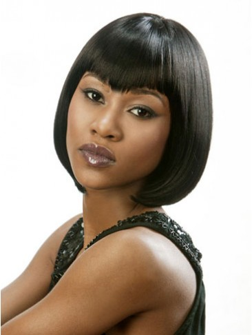 Synthetic Bob Style Lace Wig
