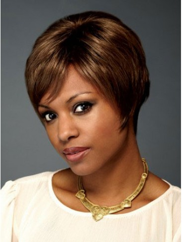 Short Synthetic Lace Wig