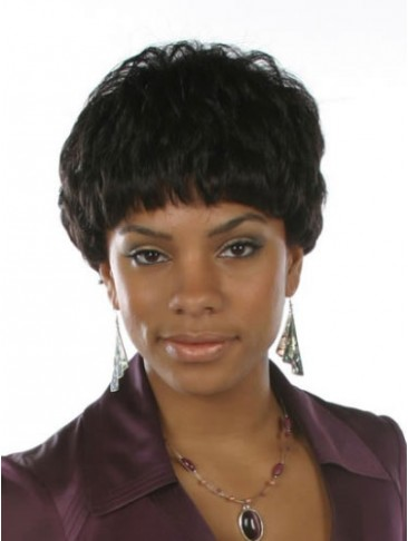 Boy-cut Wavy Short Synthetic Wig