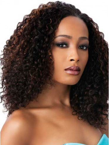 Top Quality Long Small Curly Synthetic Wig