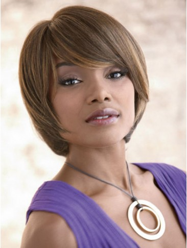 Graceful Bob Short Synthetic Capless Wig
