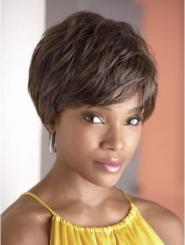 Tousled Layers Short Synthetic Capless Wig