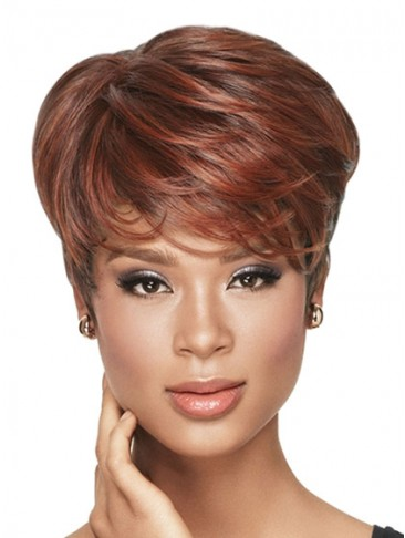 Tapered Tomboy Synthetic Capless Wig