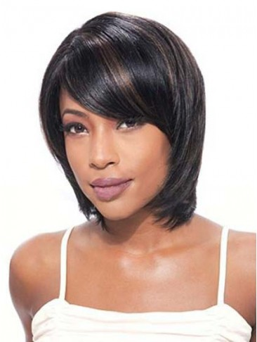 Pretty Simple Tailored Short Straight Lace Front Wig