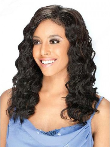 Medium Wavy Lace Front Wig 100% Real Human Hair Wig