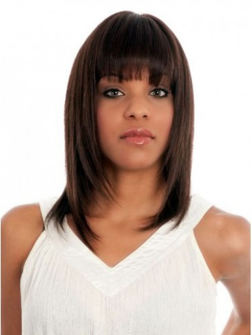 Straight 100% Remy Human Hair Wig