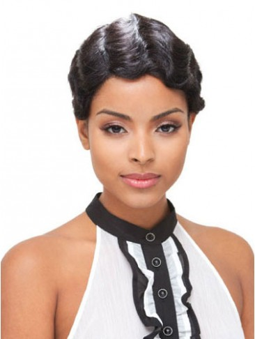 Short Straight Full Lace Human Hair Wigs