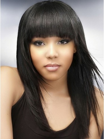 Silkystrsight Capless African American Human Hair Wigs