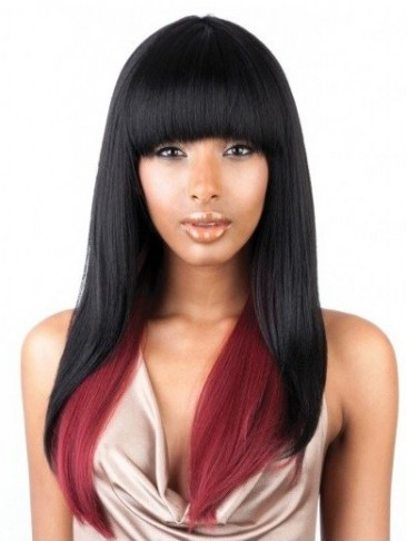 Long Remy Human Hair Capless Wig in 16 Inches