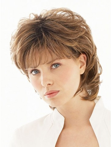 Salsa Shoulder Length Layered Synthetic Wig