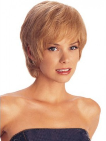 Classic Shag Layered Sides Synthetic Wig