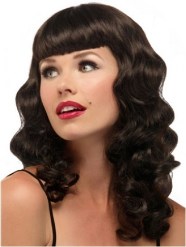Long Loose Wave Costume Capless Synthetic Wig
