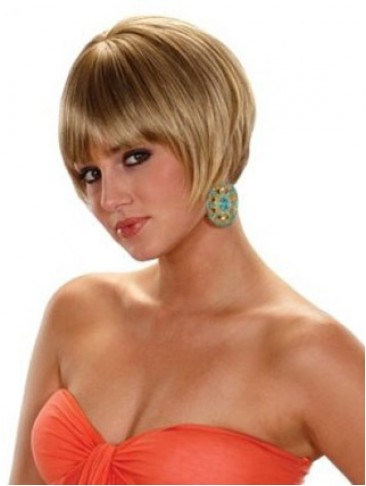 Classic Stylish Heat-Friendly Synthetic Wig