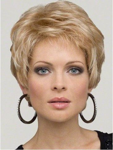 Soft Feminine Layers Synthetic Lace Front Wig