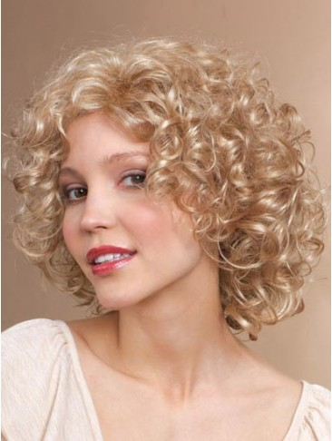 Curly Medium Length Regina Synthetic Wig