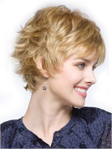 Short Cropped Pixie Synthetic Wig