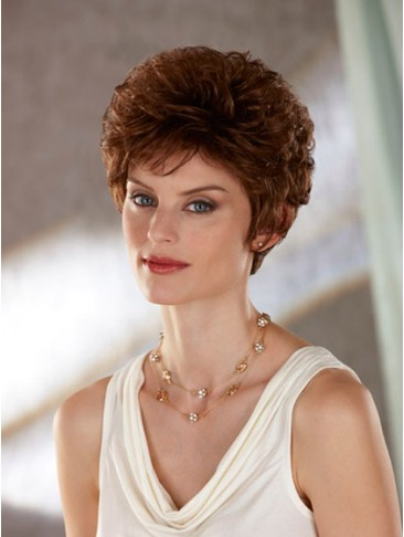 New Arrival Short Fluffy Synthetic Wig