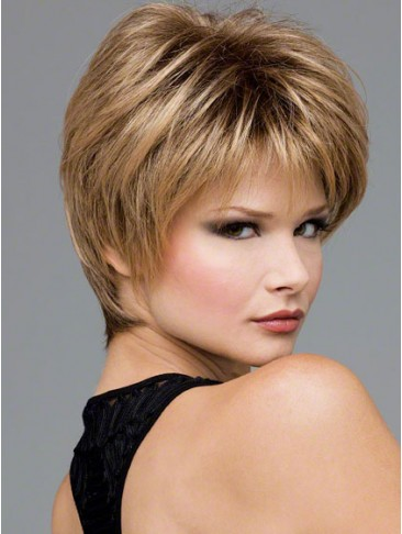 Striking Layers Lace Front Synthetic Wig