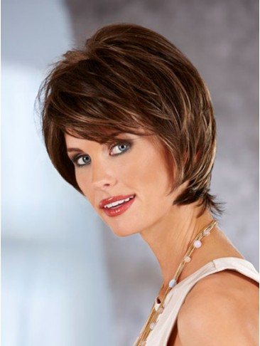 Textured Feminal Synthetic Lace Front Wig
